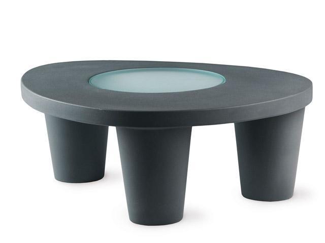 Стол пластиковый журнальный Low Lita Table Standart