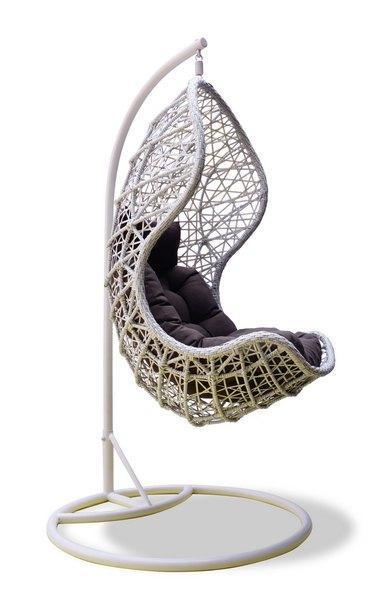 Кресло плетеное подвесное Cand Vanilla