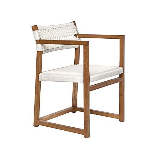 Кресло плетеное деревянное Emily