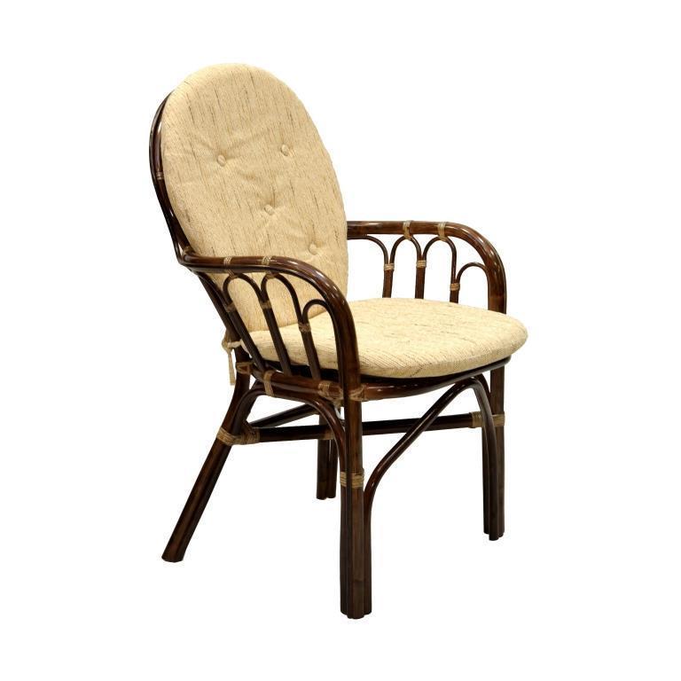 Кресло плетеное с подушками Cozy