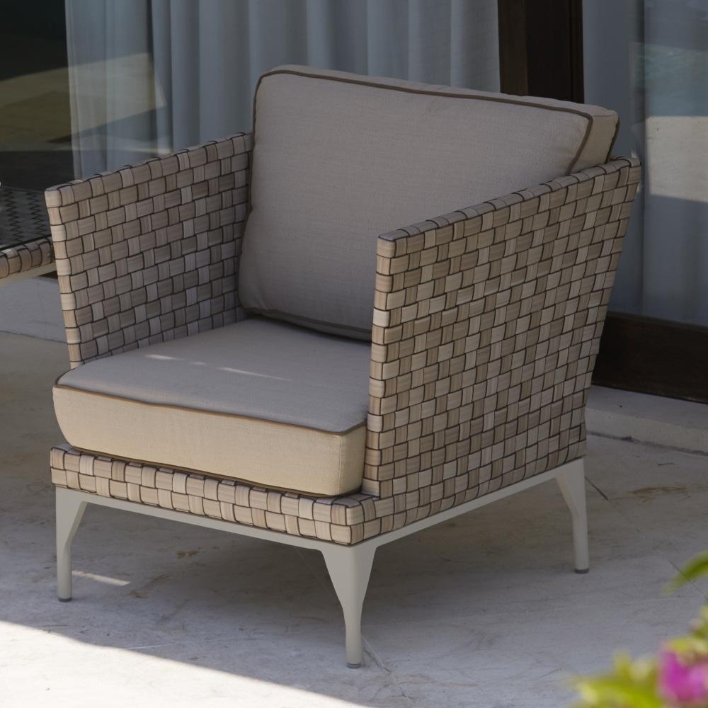 Кресло плетеное Brafta
