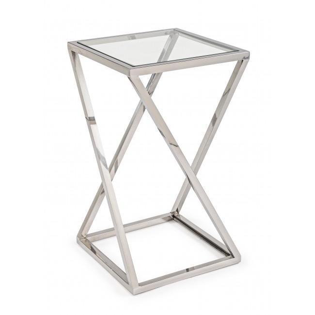 Стол стеклянный кофейный Saphira