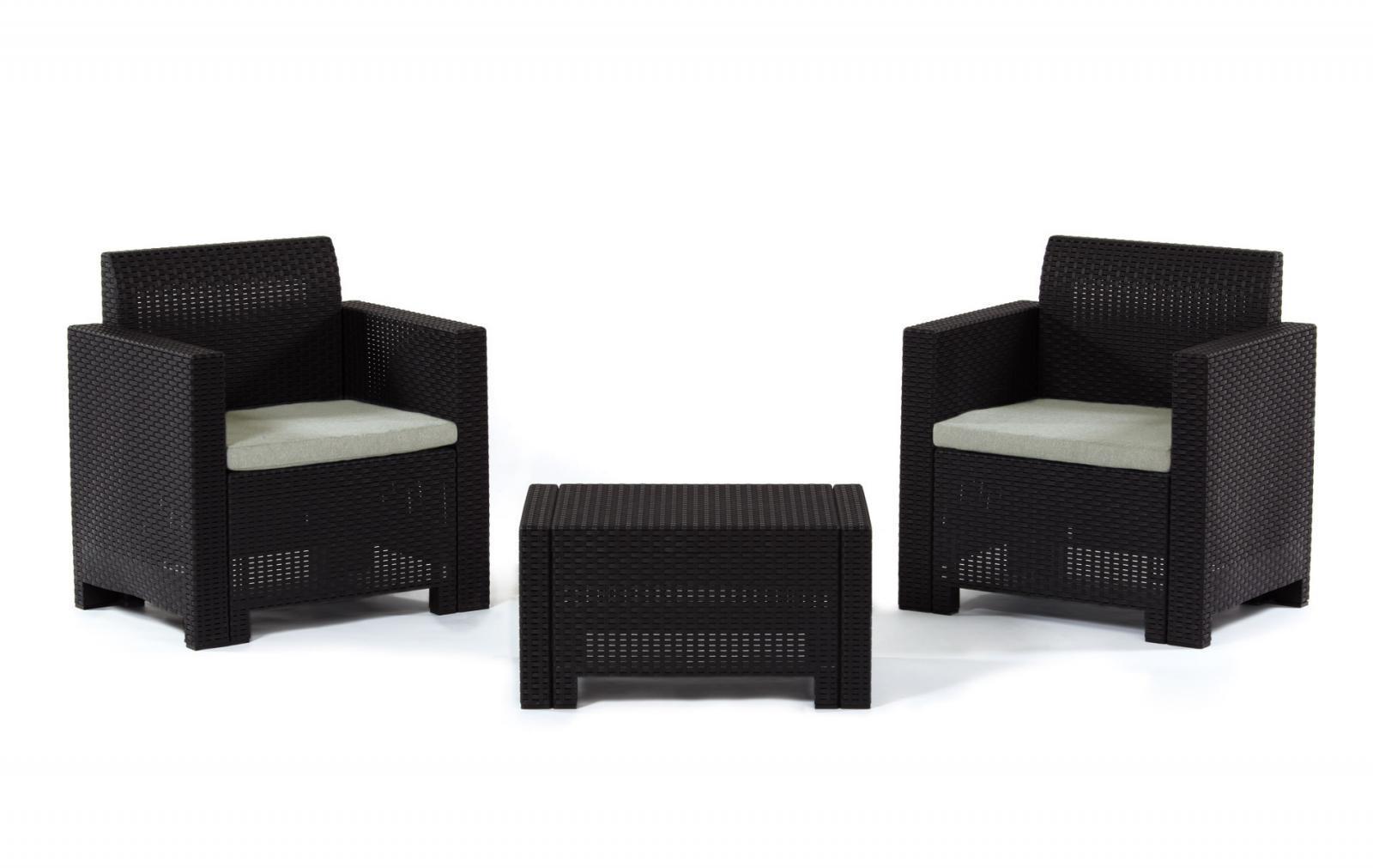 Комплект пластиковой мебели Set Nebraska Terrace