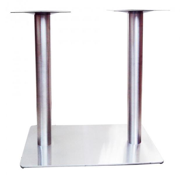 Подстолье двойное металлическое