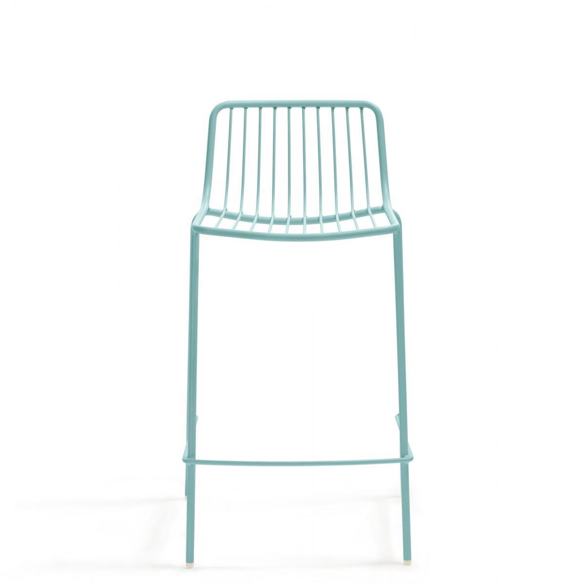 Полубарный металлический стул Nolita