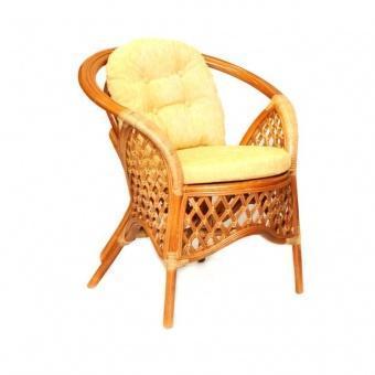 Кресло плетеное с подушками Melang