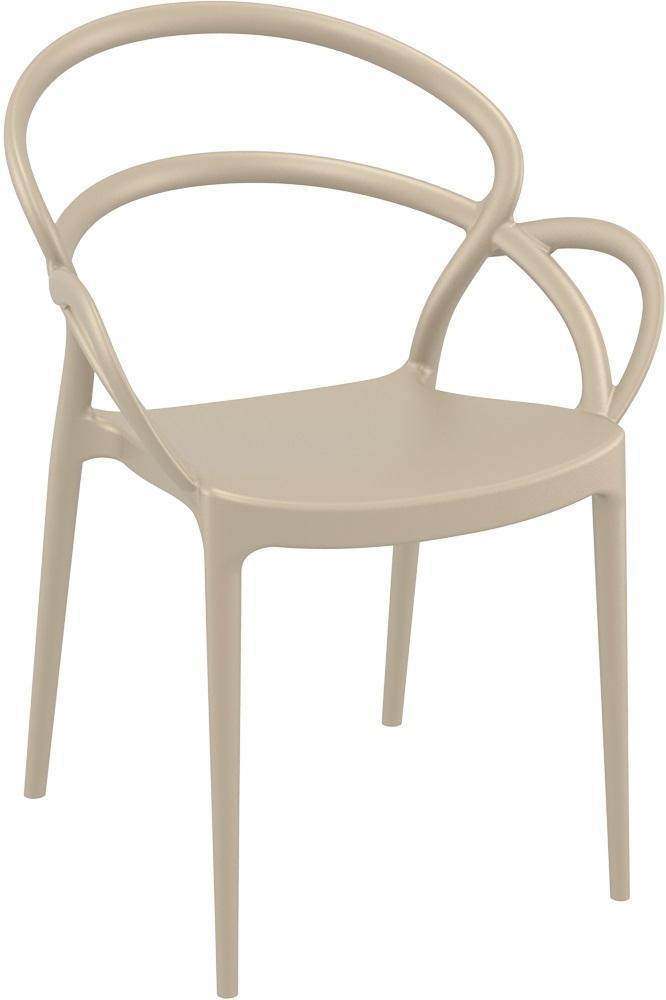 Кресло пластиковое Mila