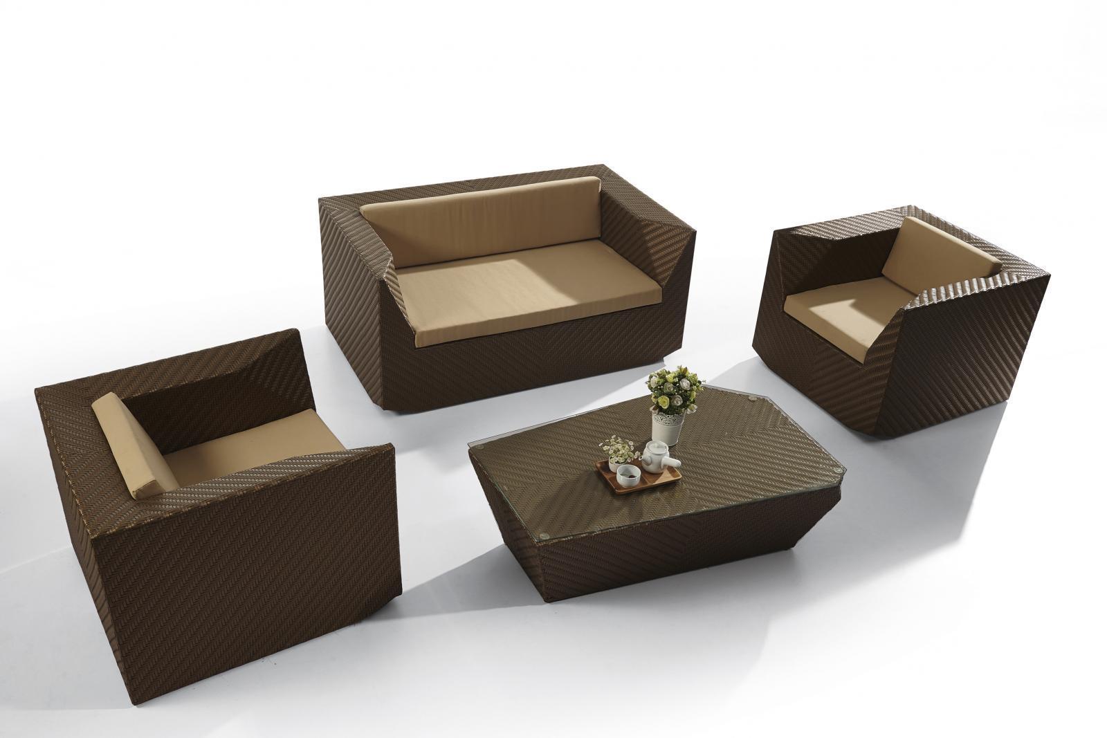Лаунж-набор мебели Cubico