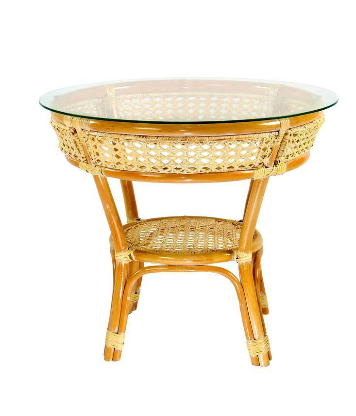 Стол плетеный обеденный Java