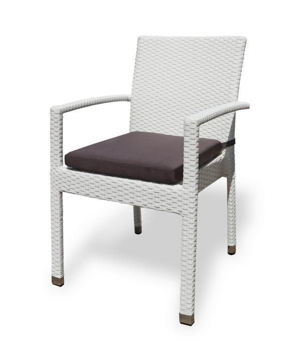 Кресло плетеное с подушкой Milano