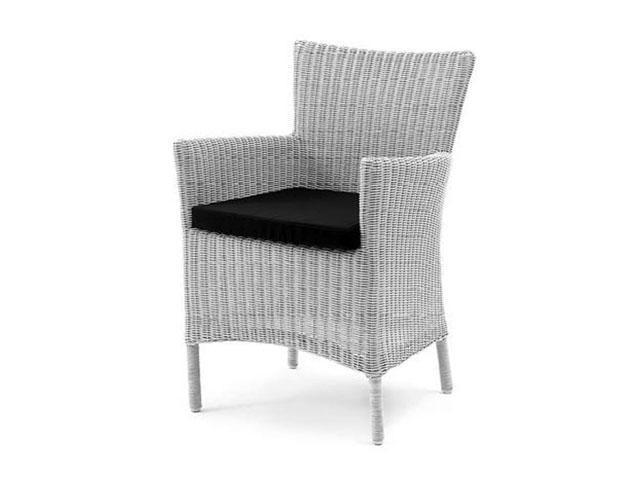 Кресло плетеное с подушкой Toscana
