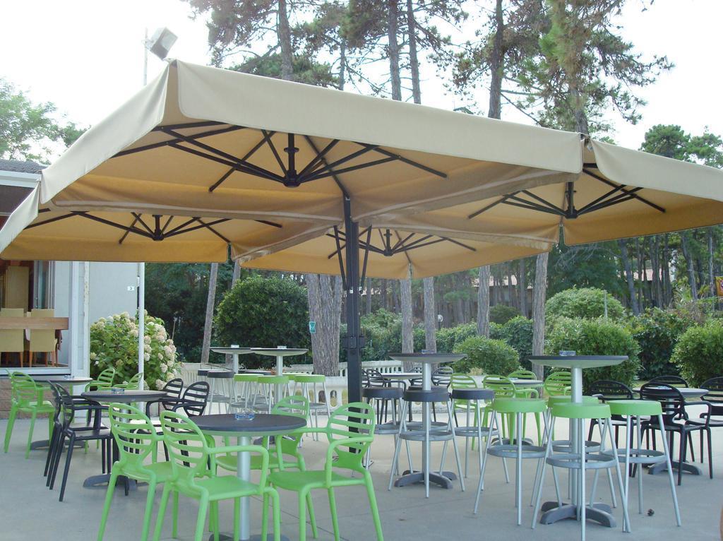 Зонт профессиональный четырехкупольный Galileo Aluminium