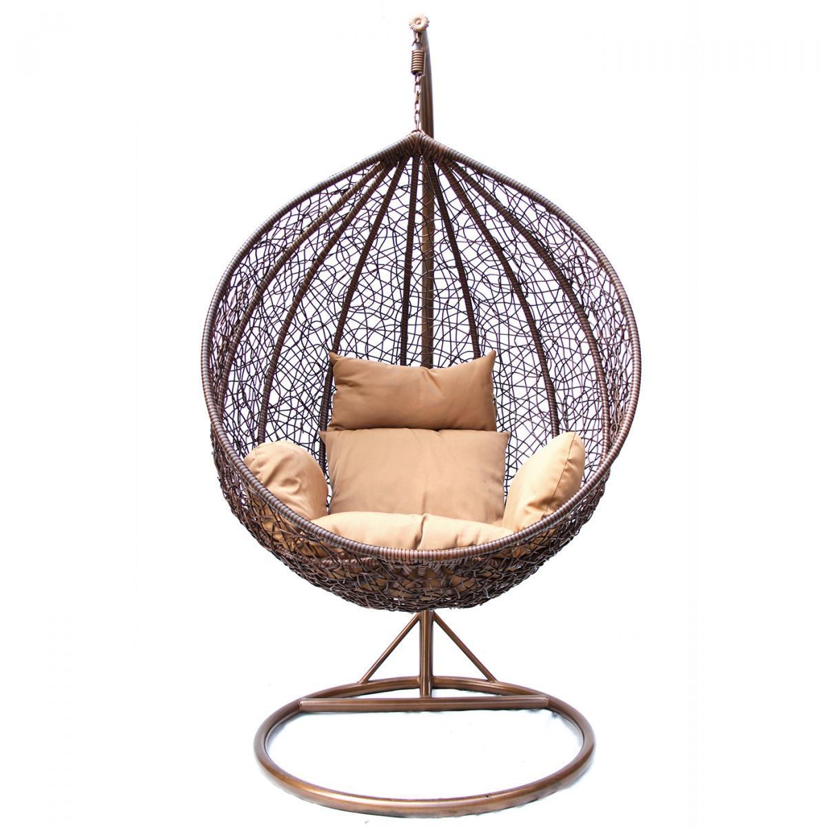 Кресло плетеное подвесное KM-0001
