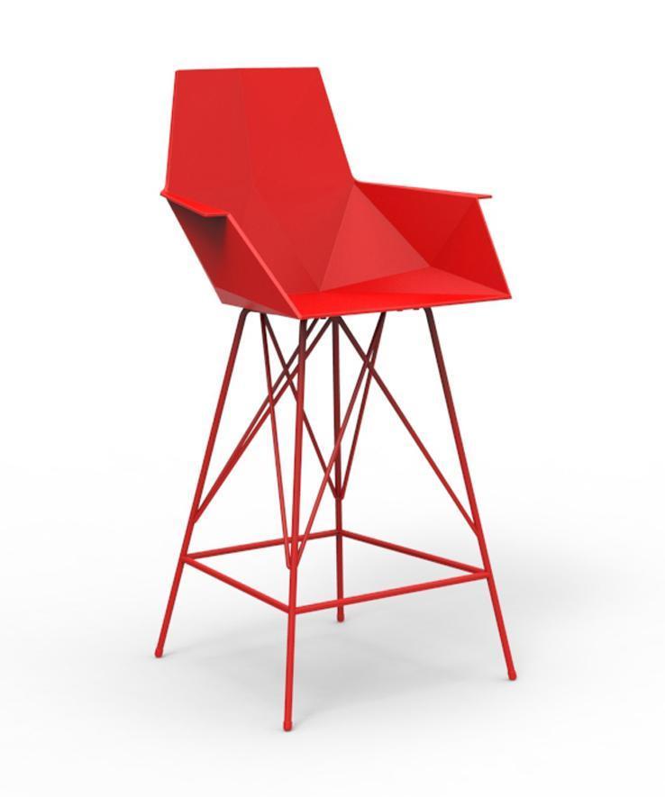 Кресло пластиковое полубарное Faz Counter Stool