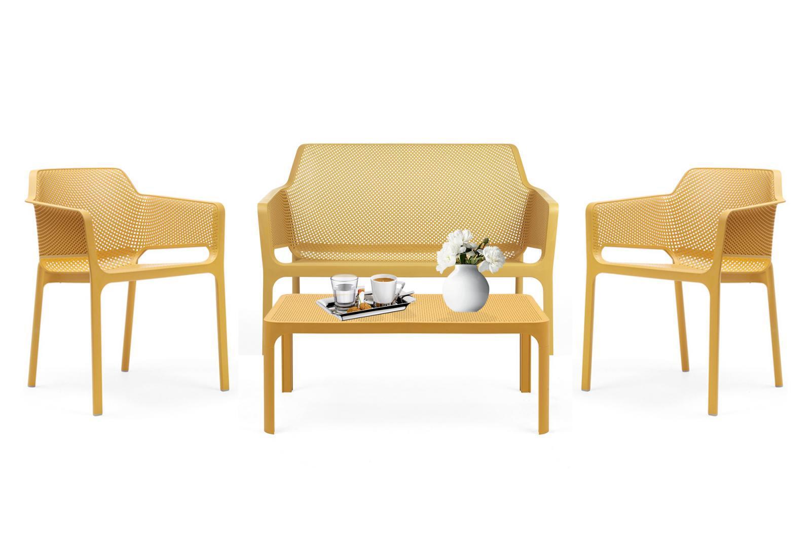 Комплект пластиковой мебели Net