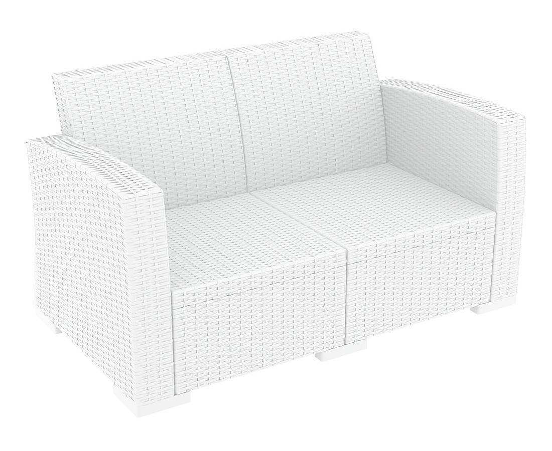 Диван пластиковый плетеный Monaco Lounge Sofa
