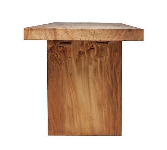 Стол деревянный консольный Suar