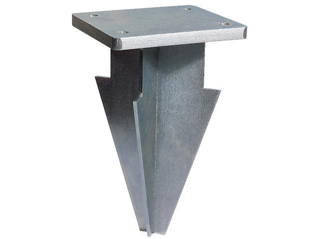 База для крепления зонта с центральной опорой в грунт 091/BTC