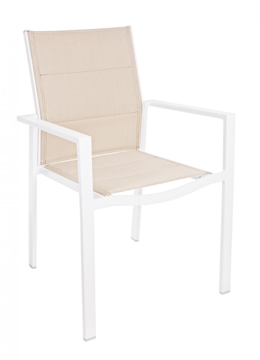 Кресло металлическое текстиленовое Terry