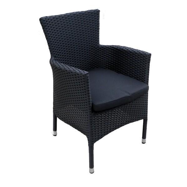 Кресло плетеное с подушкой Aroma