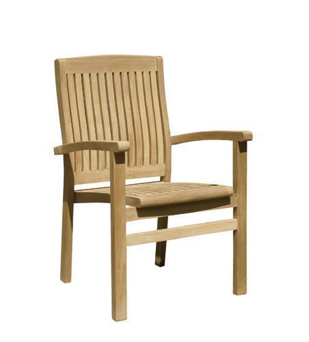 Кресло деревянное Onda