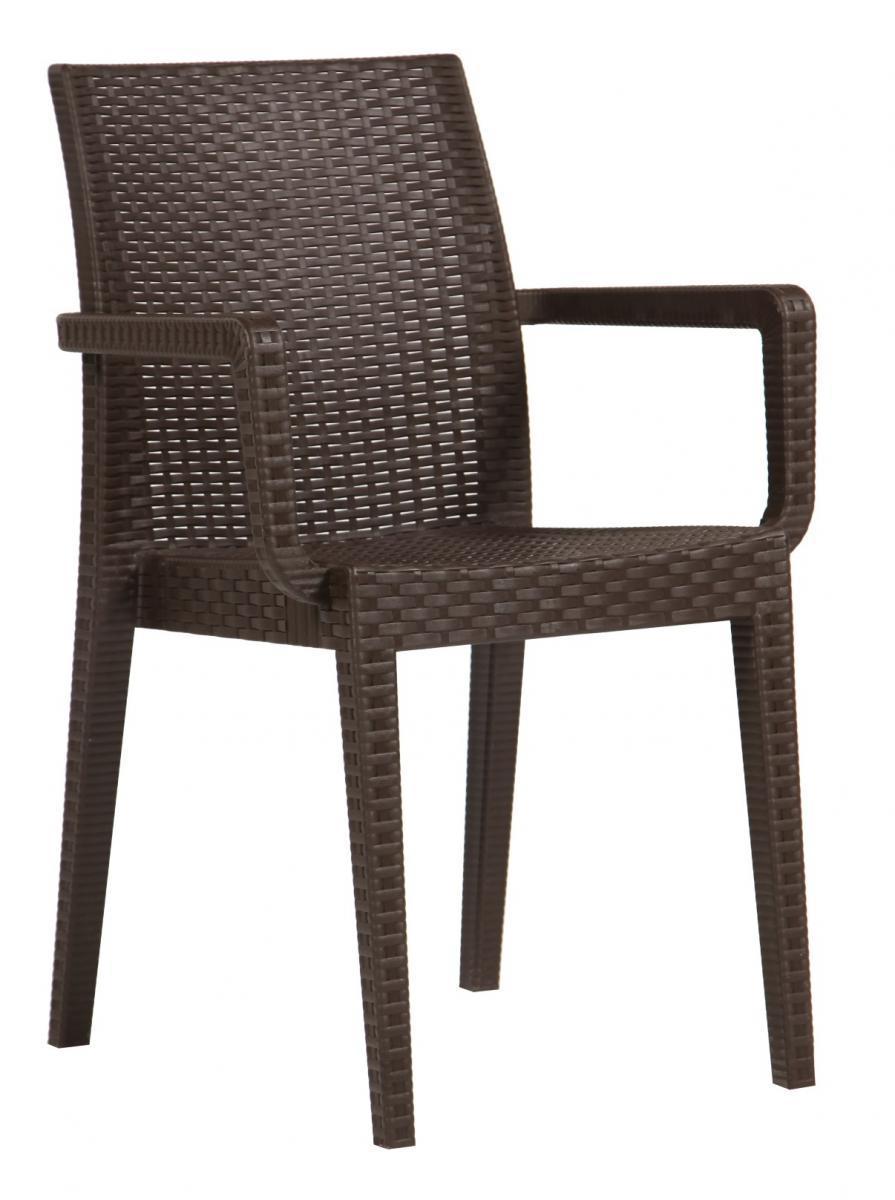 Кресло пластиковое Siena Eco Rattan Armchair