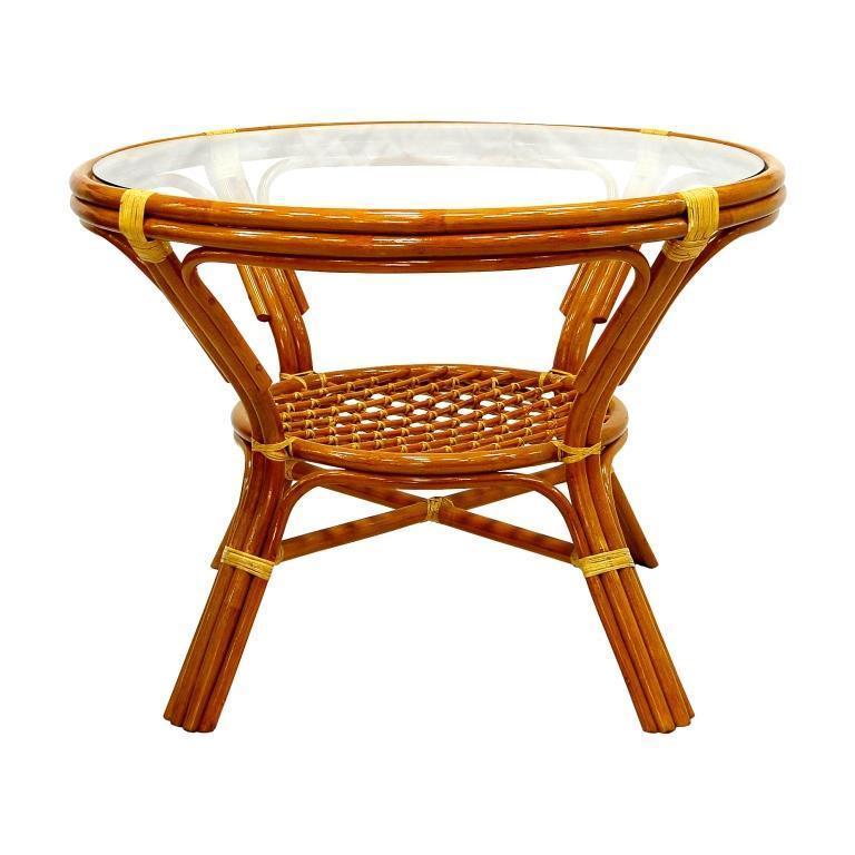 Стол плетеный обеденный Ellena