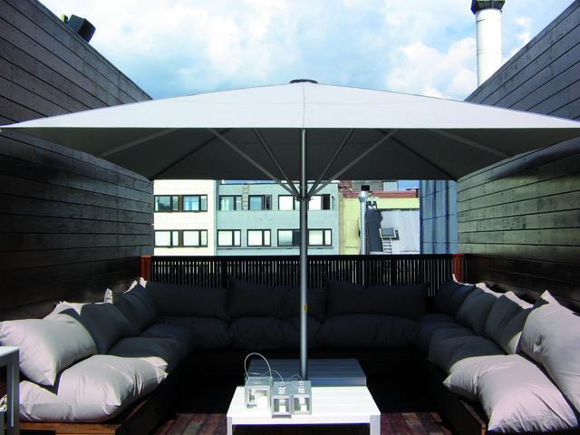 Зонт профессиональный телескопический Schattello