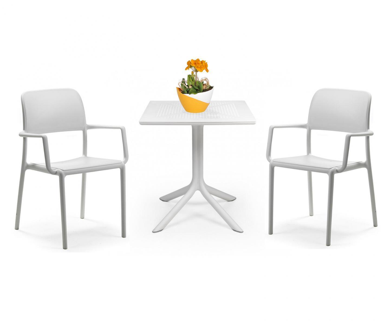 Комплект пластиковой мебели Clip Riva