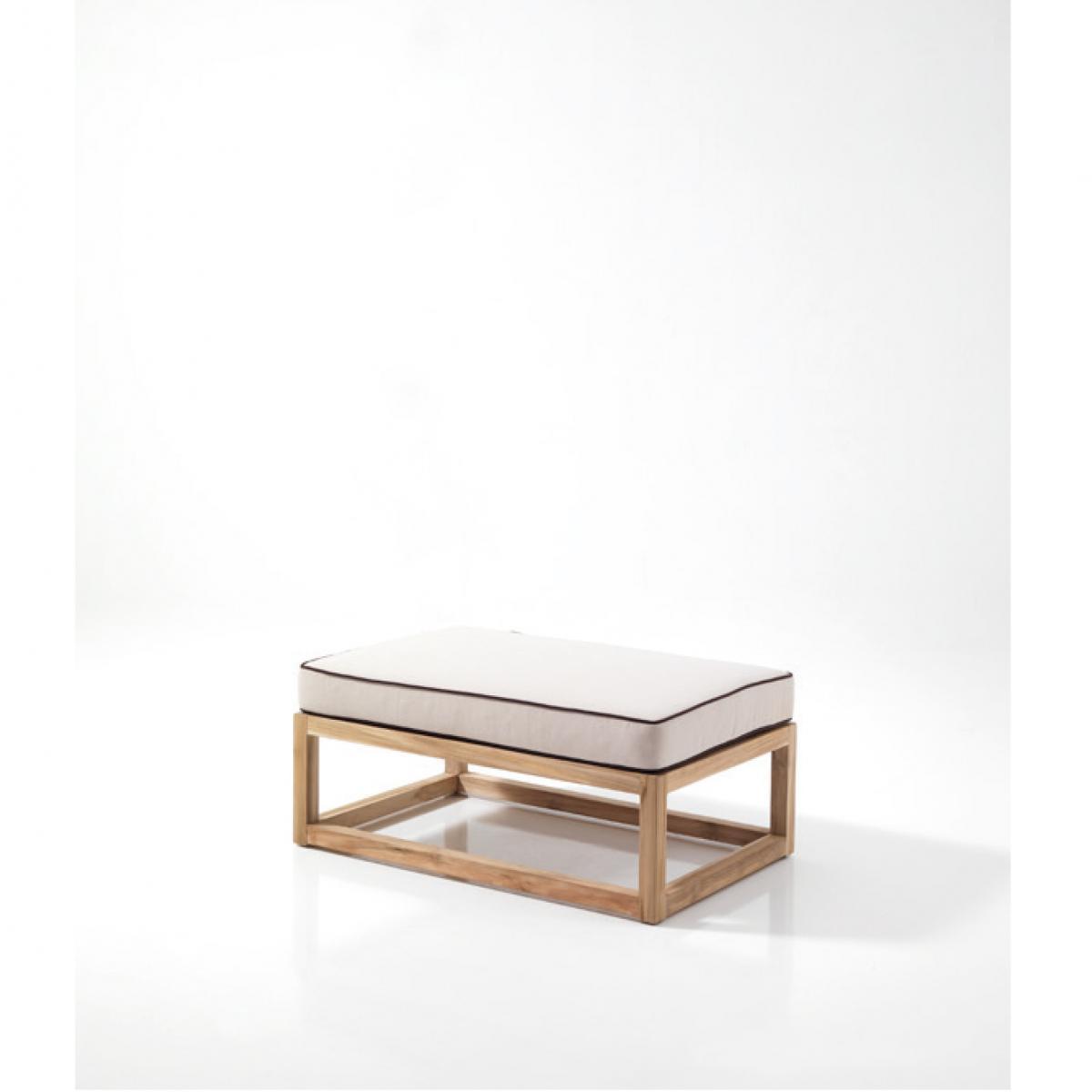 Пуф-столик деревянный Mississippi