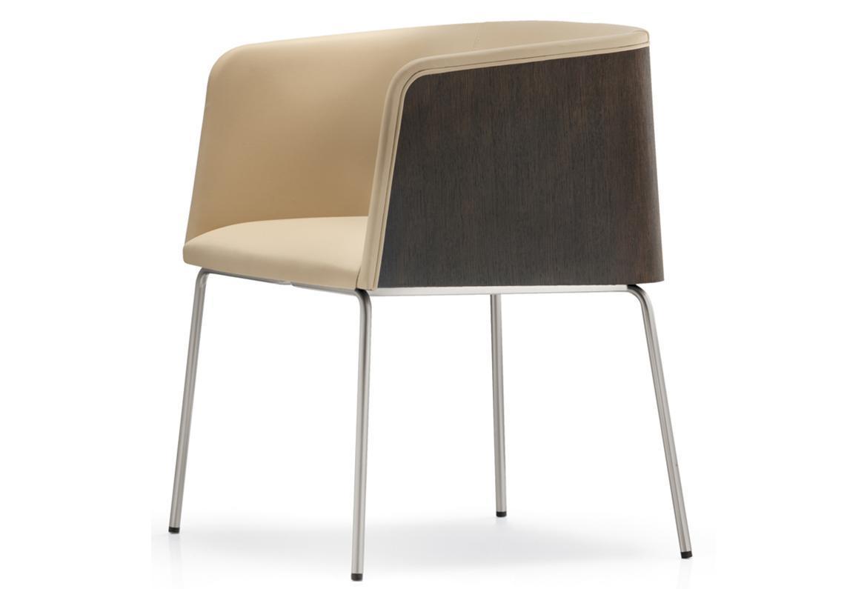 Кресло деревянное мягкое Allure