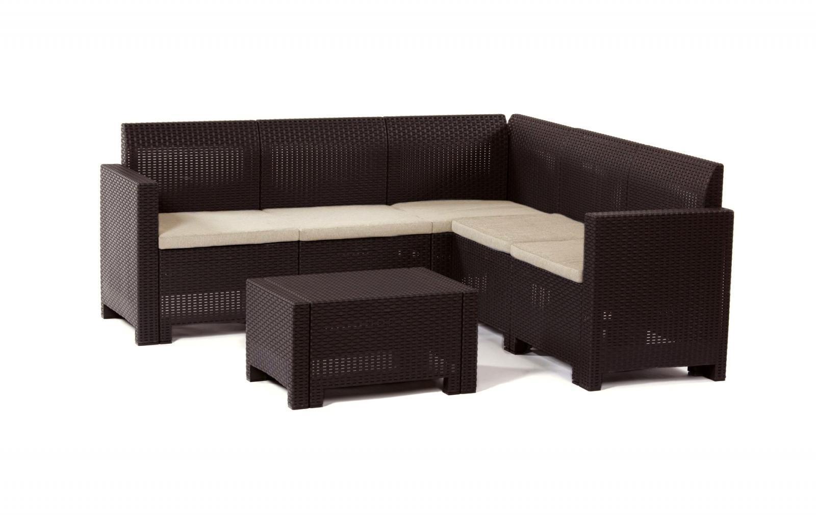 Комплект пластиковой мебели Set Corner Nebraska HB