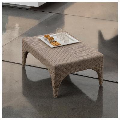 Столик плетеный журнальный Plaza