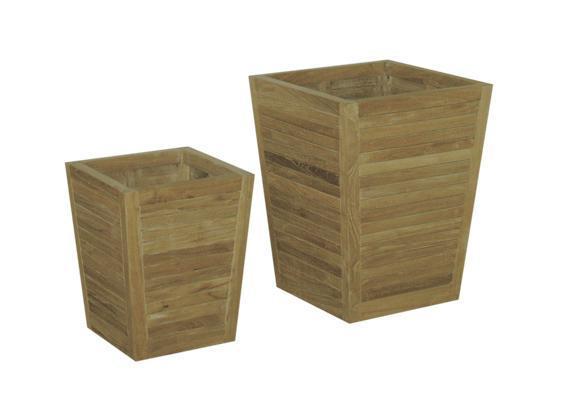 Набор деревянных кашпо, Ozone