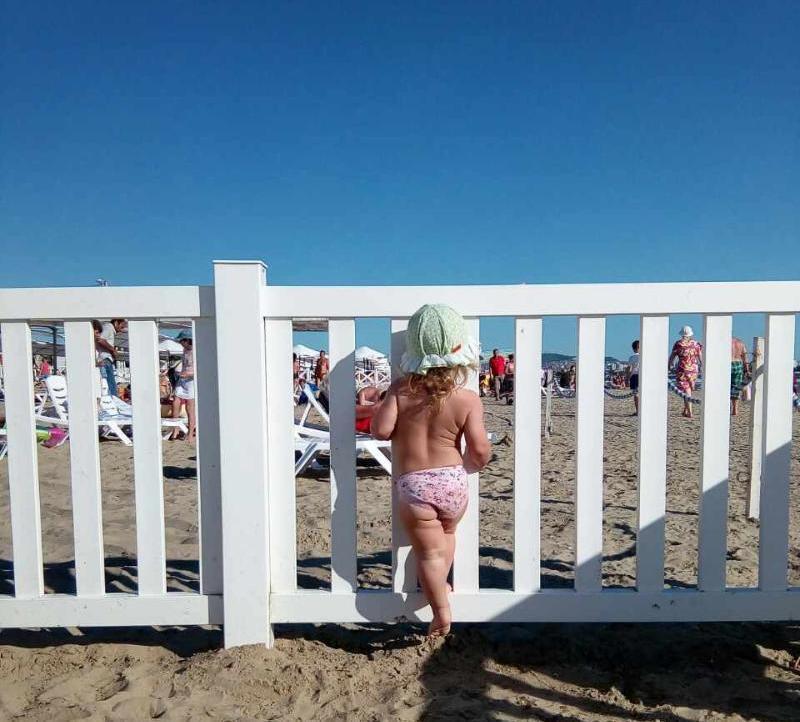 Ограждение для пляжа PVC
