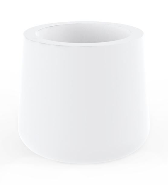 Кашпо пластиковое Ulm Round Planter Simple