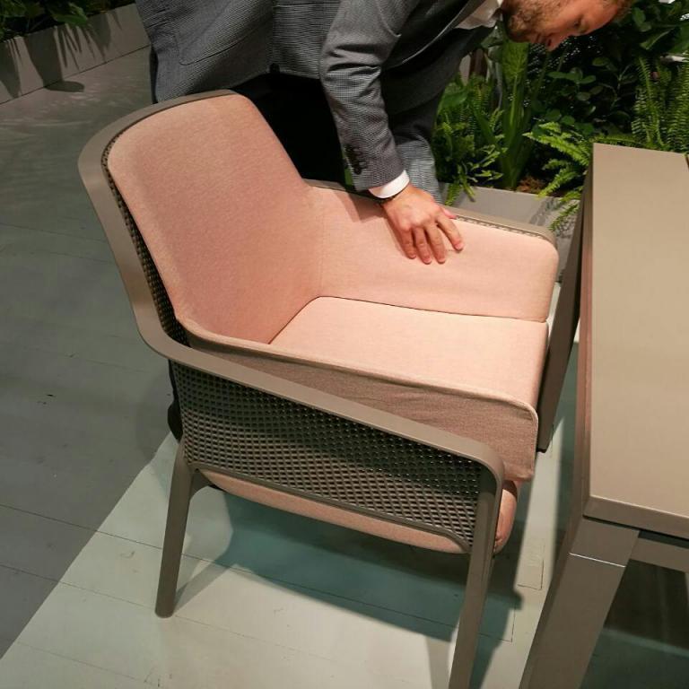 Вставка для кресла мягкая Shell Net Relax