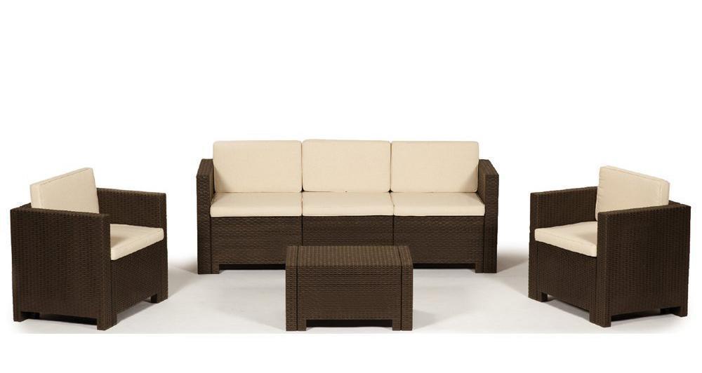 Комплект пластиковой мебели Colorado 3