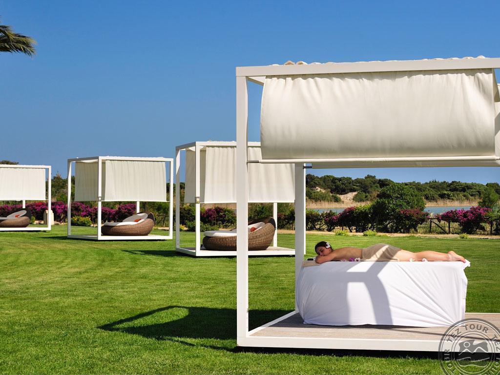 Пляжный шатер с подиумом CM-06