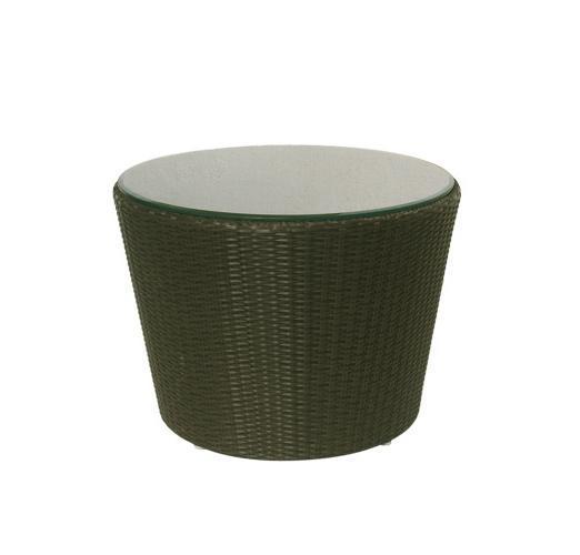 Стол плетеный со стеклом журнальный Sentosa