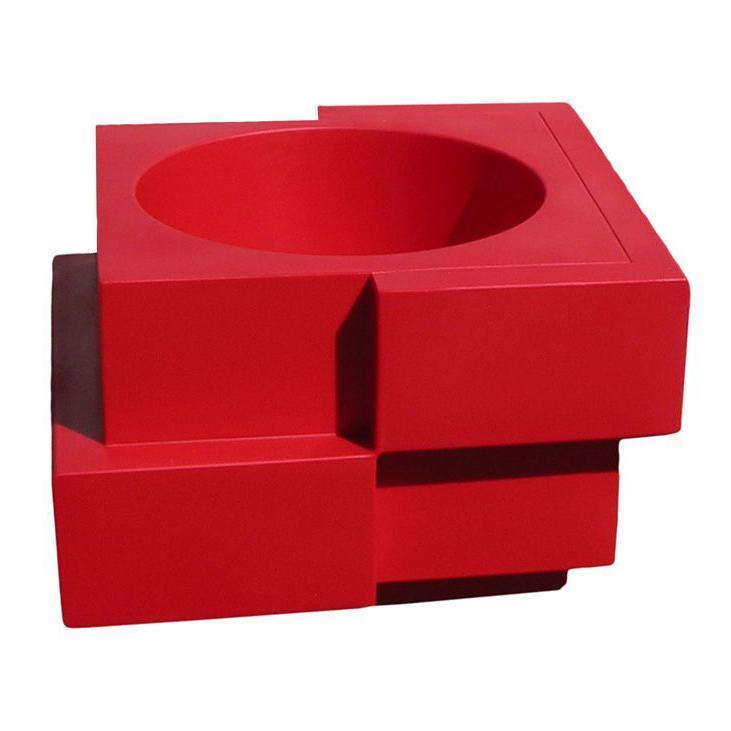 Кашпо пластиковое Cubic Yo Standard