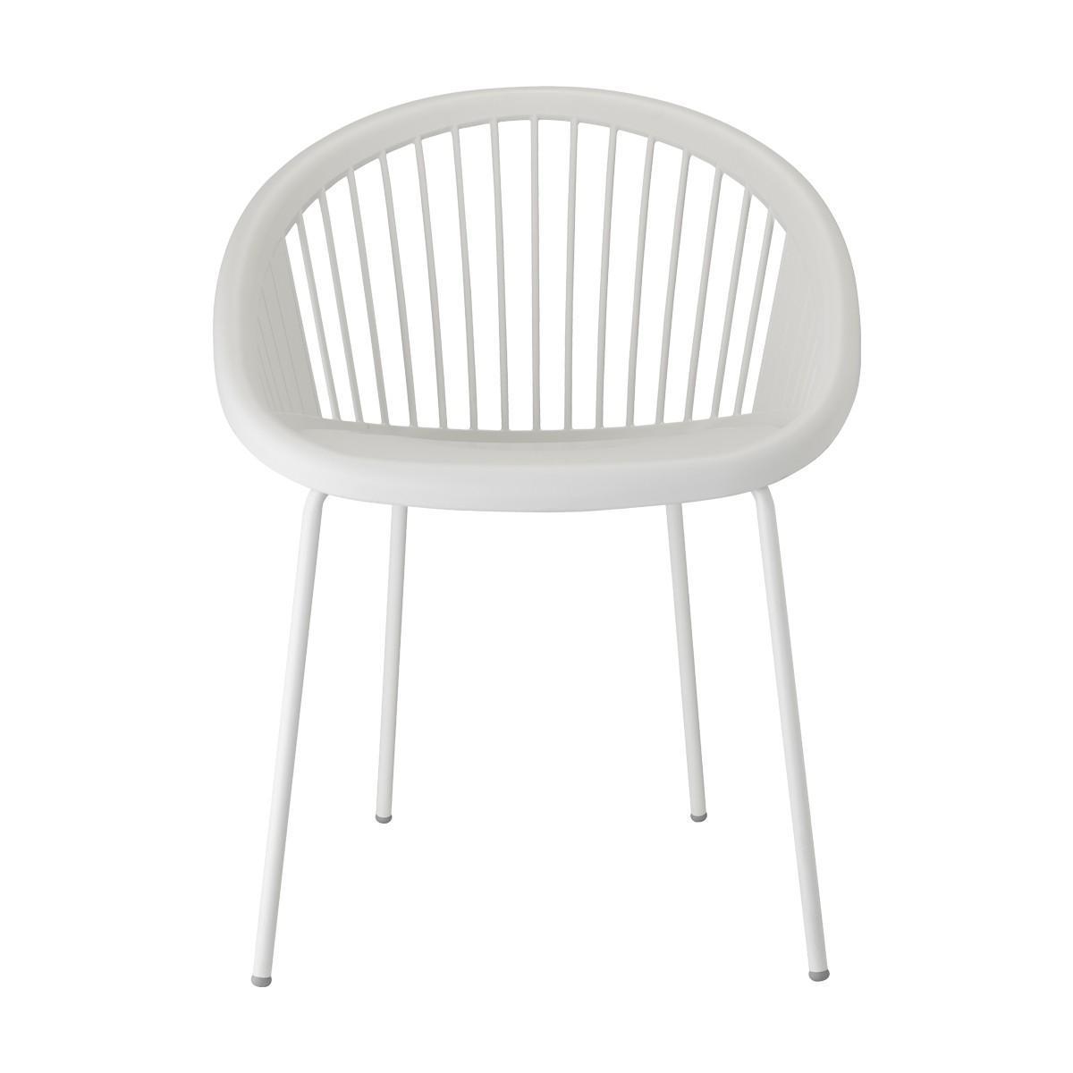 Кресло пластиковое Giulia coated frame