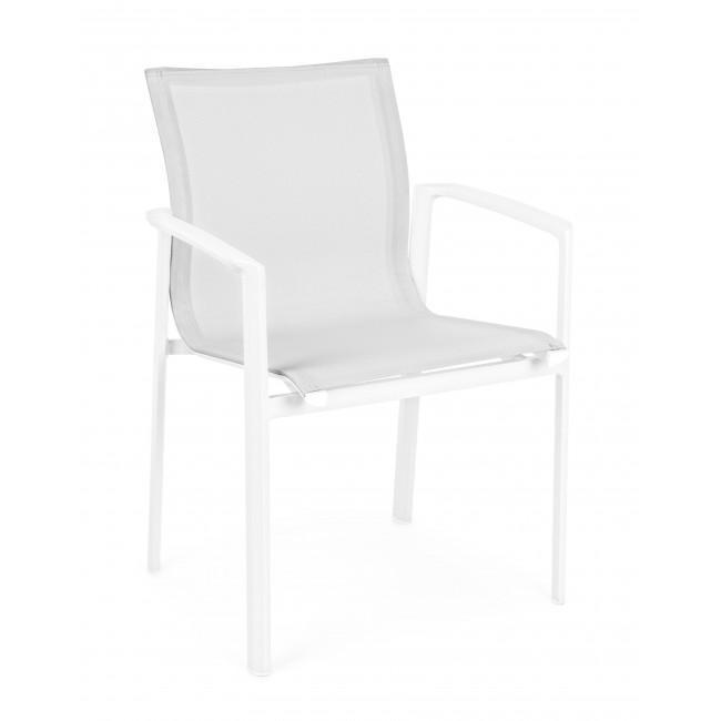 Кресло металлическое текстиленовое Gavin