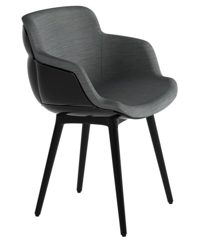 Кресло с обивкой Choppy Sleek BP