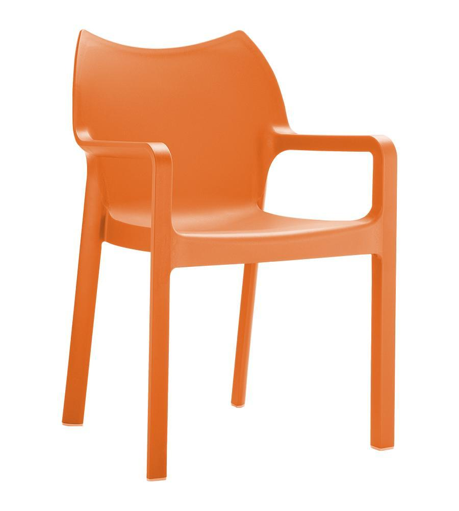 Кресло пластиковое Diva