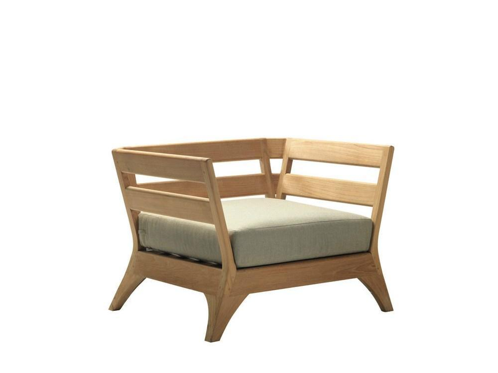 Кресло деревянное без подушки Village