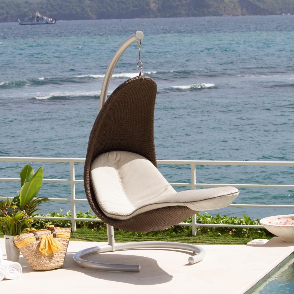 Кресло плетеное подвесное Malta/Madisson/Plank/Christy