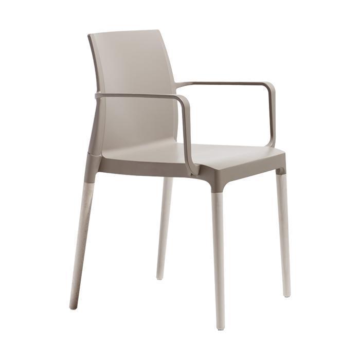 Кресло пластиковое Natural Chloe Mon Amour
