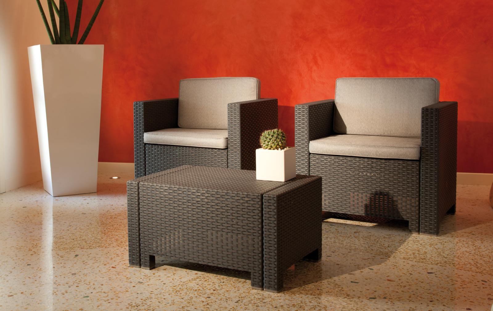 Комплект пластиковой мебели Colorado Terrace
