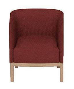 Кресло с обивкой Small Place Wood